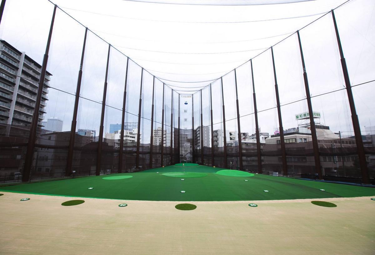 桜宮ゴルフクラブ(大阪市都島区)/打ちっぱなし・ゴルフ練習場一覧[コンドル]